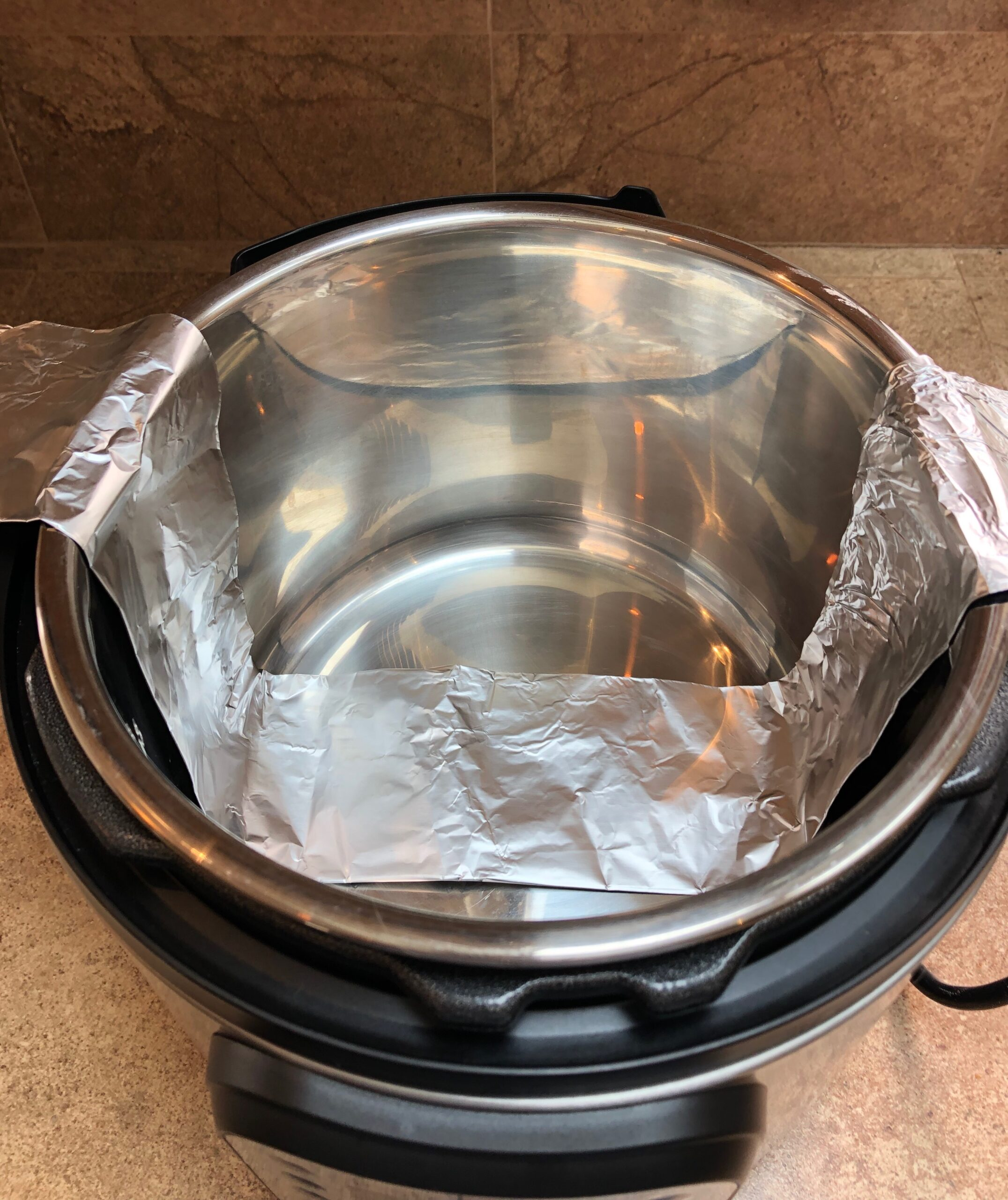 foil sling for instant pot cheesecake recipe