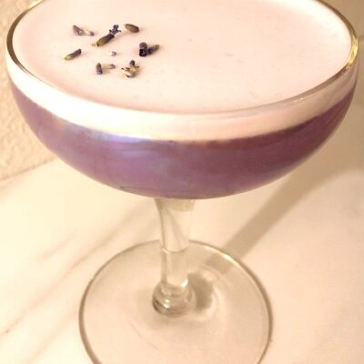 Lavender Pisco Sour Recipe