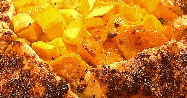 Fresh Mango Galette