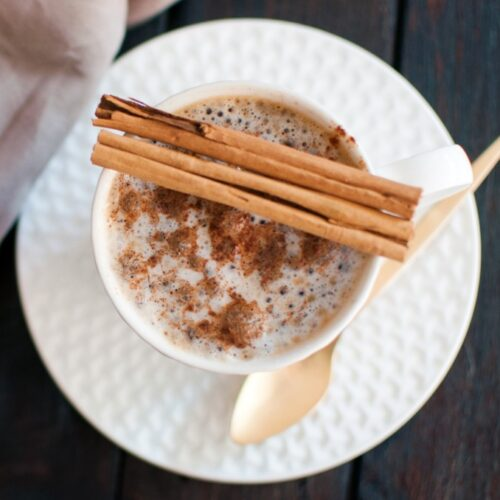 cinnamon dolce latte from copycat cinnamon dolce syrup