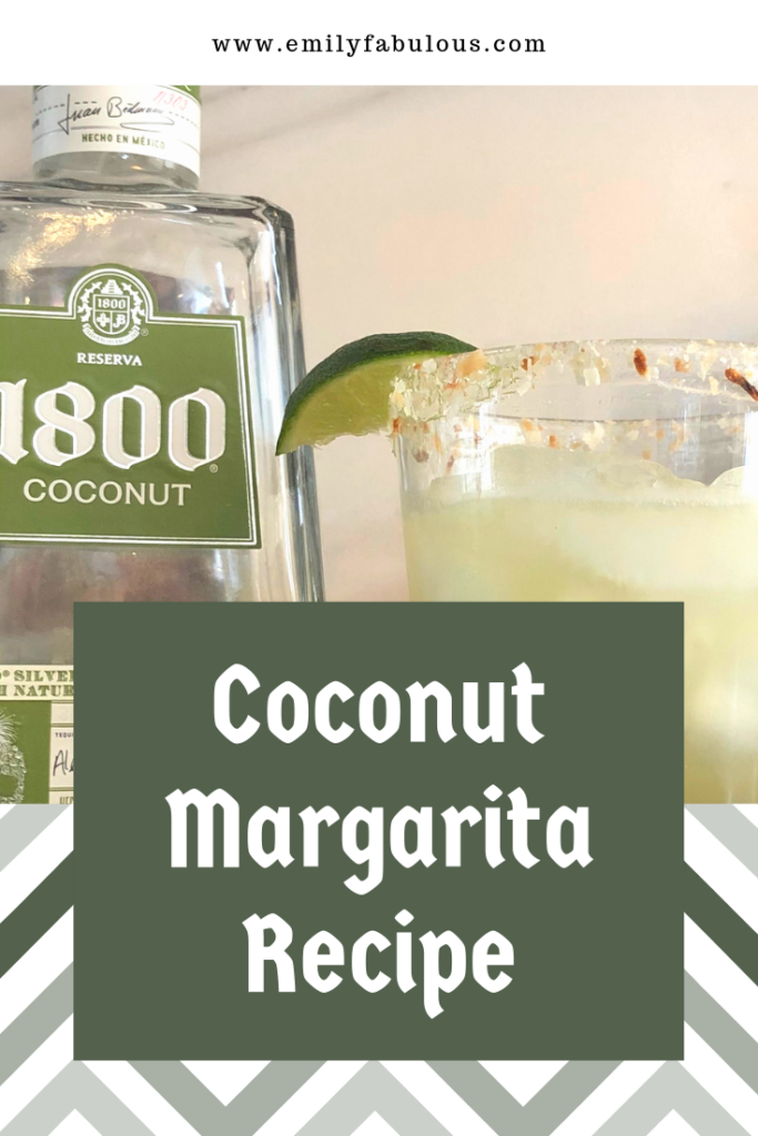 coconut margarita and coconut tequila