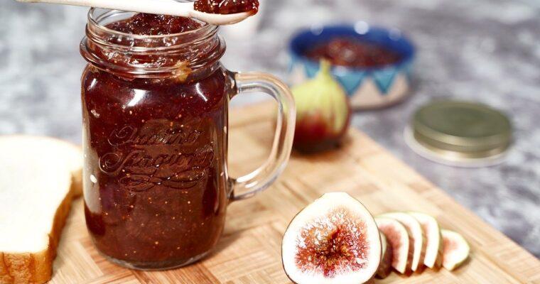 Easy Fig Jam Recipe