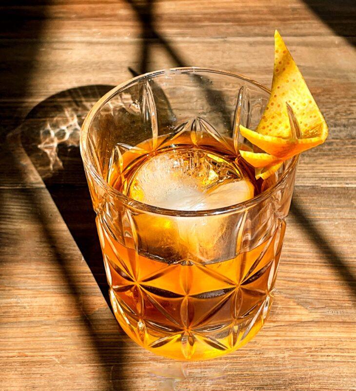 gin black walnut bitters cocktail
