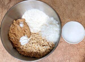 ingredients for fig bars