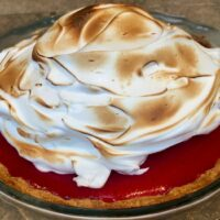 meyer lemon cranberry pie