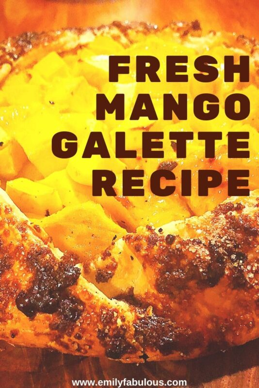 mango galette