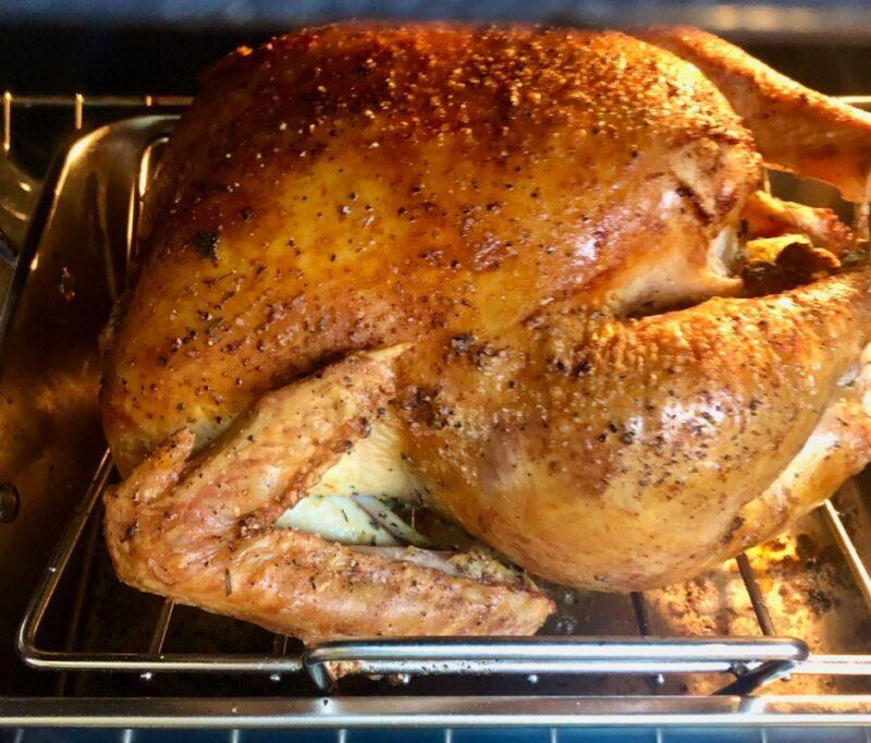 perfect dry brined roasted turkey