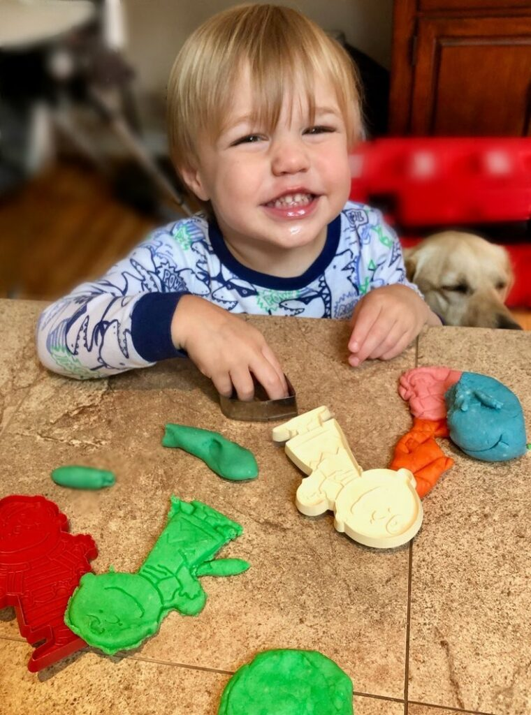 play dough fun