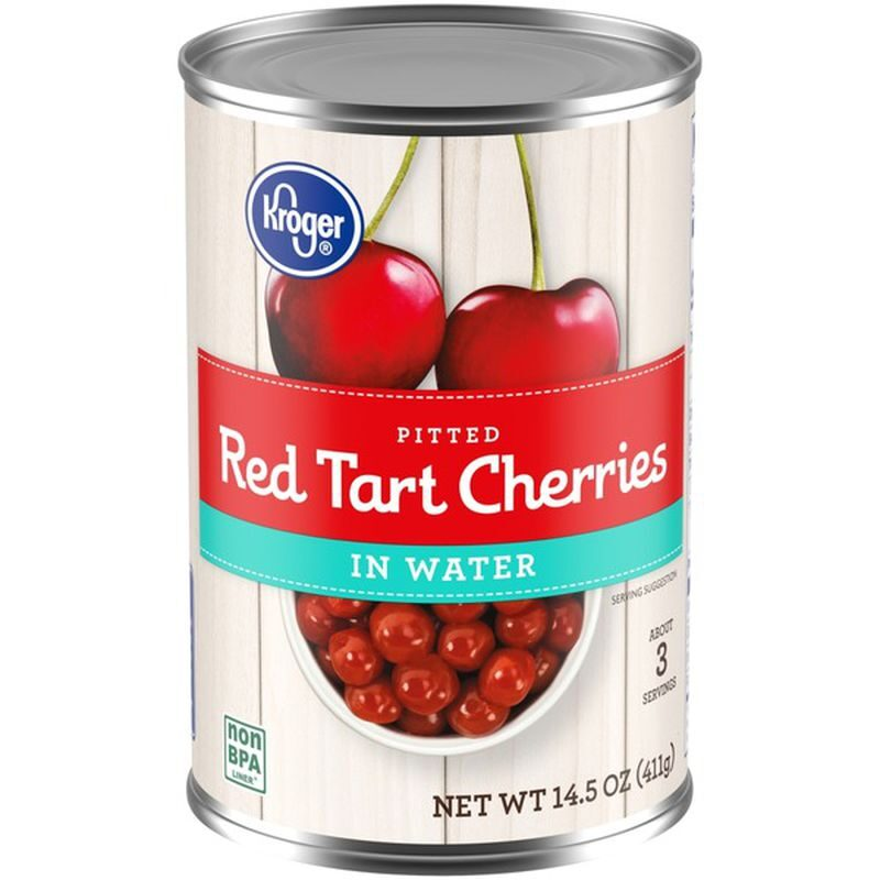 sour cherries in a can