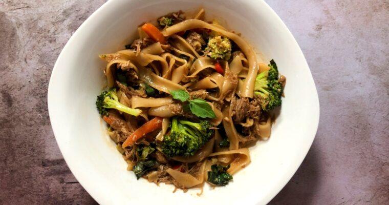 Easy Drunken Noodle Recipe