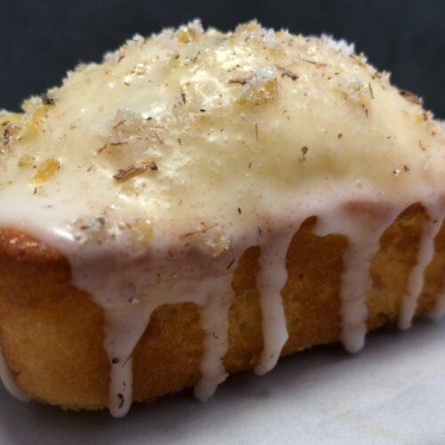 lemon lavender mini loaf