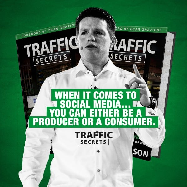 Traffic Secrets image for book by Russell Brunson