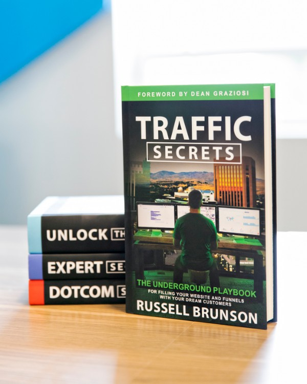 four Trilogy Secrets Books by Russell Brunson
