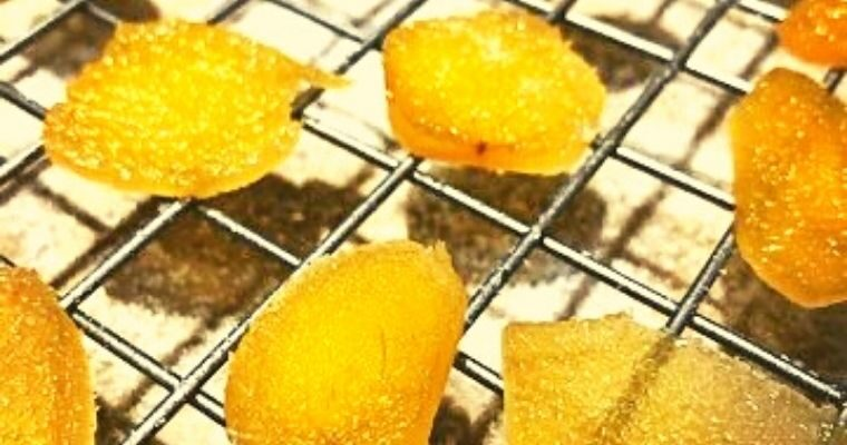How to Make Candied Ginger and Ginger Syrup