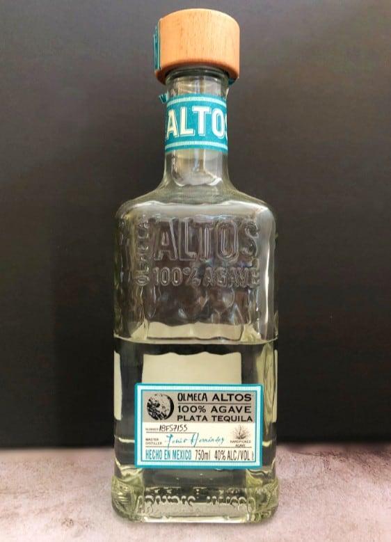 altos silver tequila