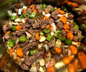 beef stew in the instant pot