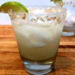 coconut tequila margarita with lime