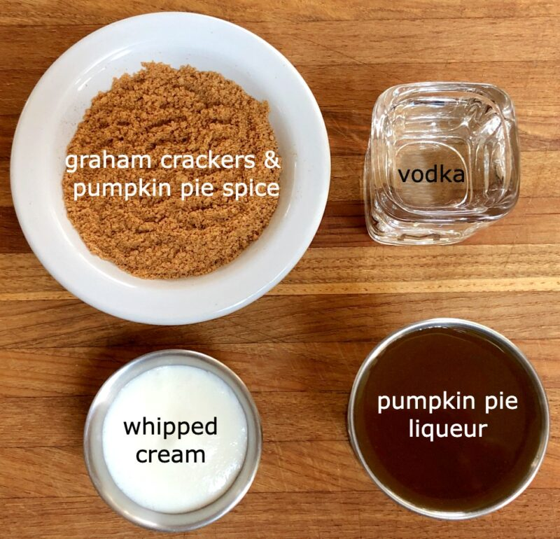 pumpkin spice martini ingredients
