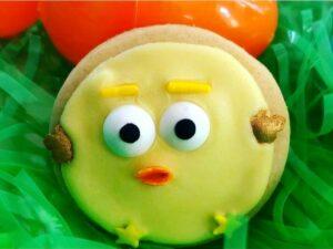 chick sugar cookie