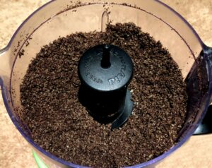 oreos crushed in a food processor