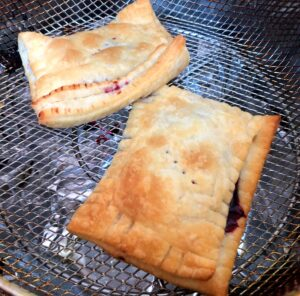 pop tarts in an air fryer after cooking