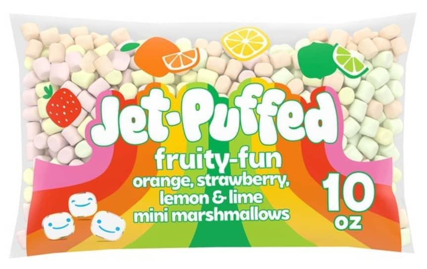 bag of fruit marshmallows