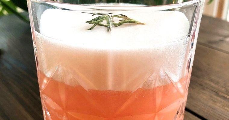 Rosemary Grapefruit Vodka Cocktail