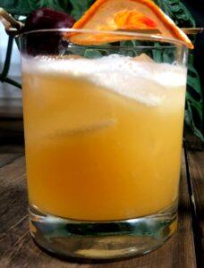 whiskey tiki bitters cocktail