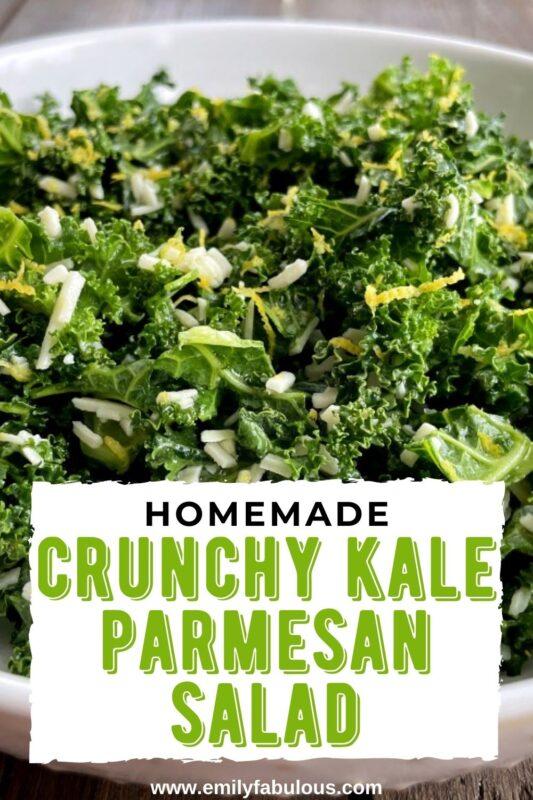 kale salad with parmesan and lemon
