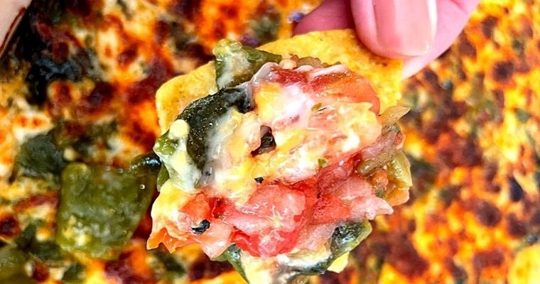Chile Relleno Cheese Dip