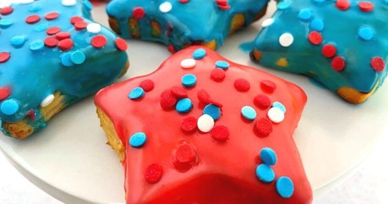 Air Fryer Star Donuts