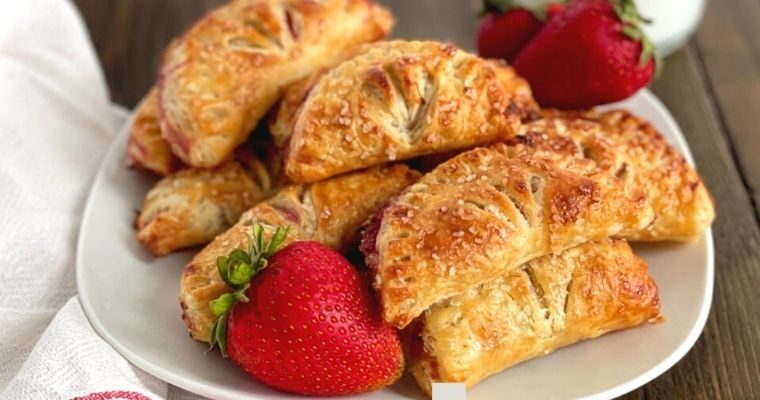 Air Fryer Strawberry Turnovers