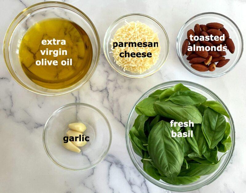 almond pesto ingredients