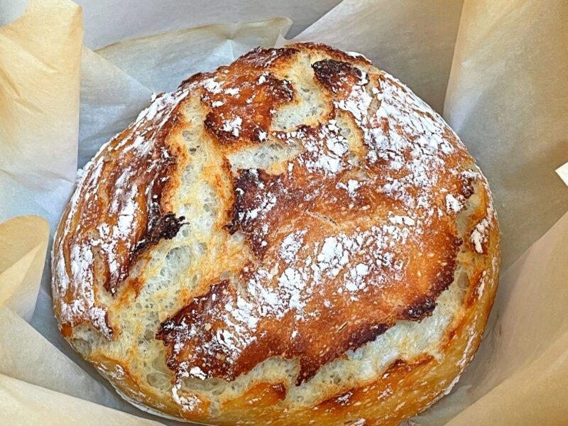 baked dutch oven sourdough