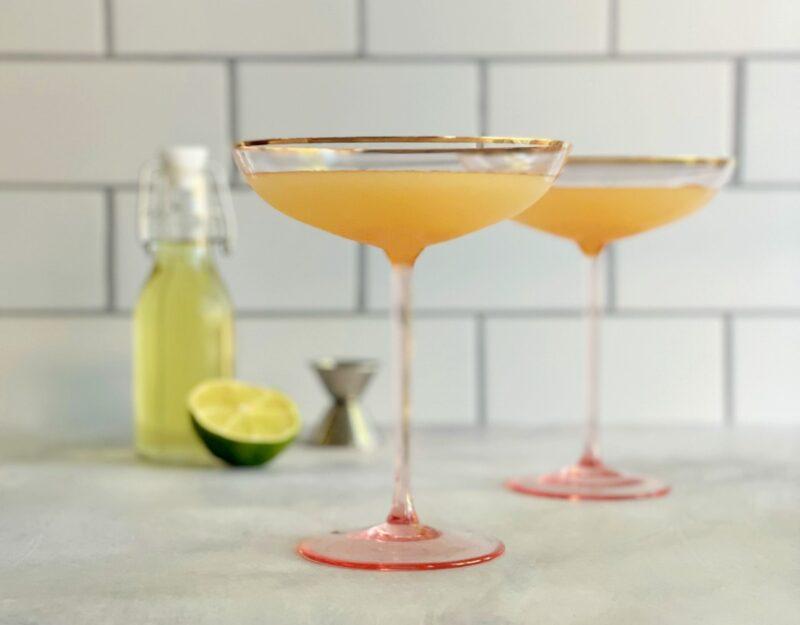 fig leaf syrup cocktails