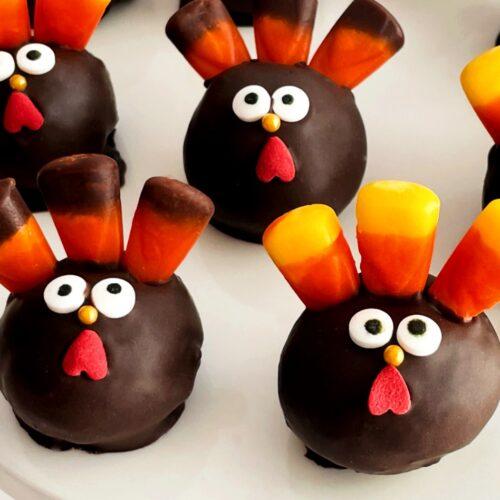 turkey cakes pops